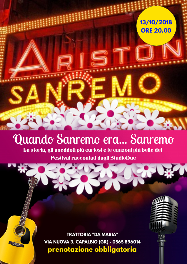 Quando Sanremo… era Sanremo